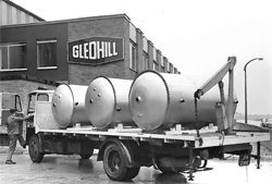 Gledhill history old delivery