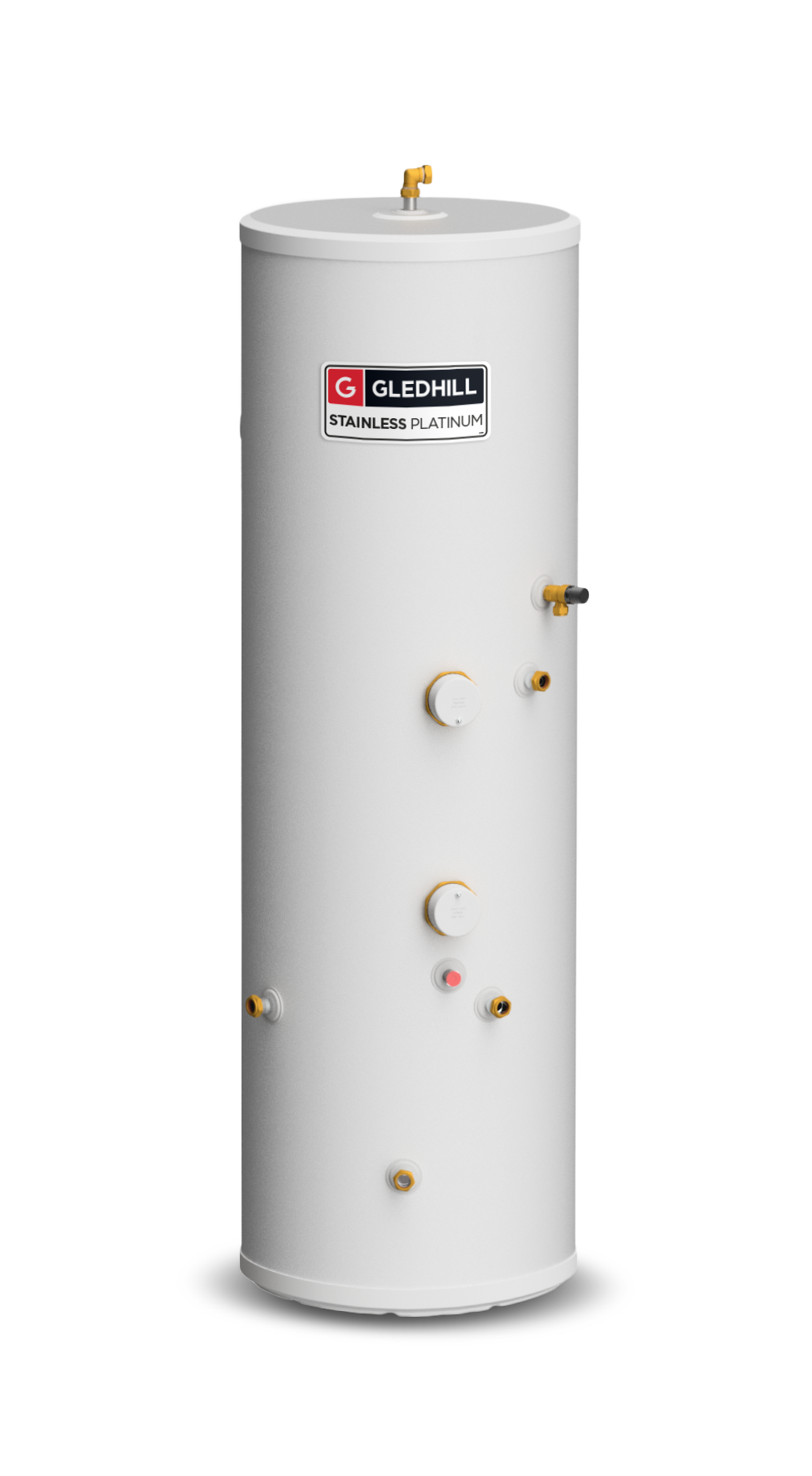 Stainless Platinum Indirect Water Cylinder