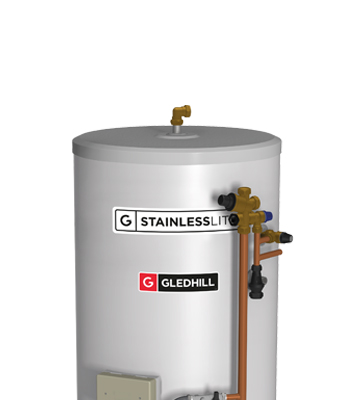 Stainlesslite pre plumbed indirect gledhill the stainlesslite pre plumbed unvented cylinder offers a plug n play solution designed with the new build housing market in mind asfbconference2016 Gallery