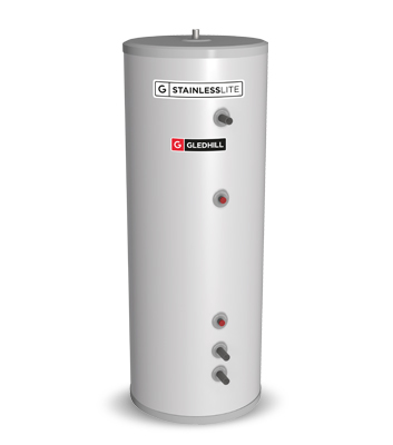StainlessLite Buffer Store - Stainless Steel Cylinder